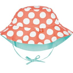 Lassig Lassïg - Chapeau Réversible avec Attache au Cou/Reversible Hat with Neck Strap