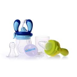 Kidsme Kidsme - Starter Pack Food Feeder, Lime and Aqua