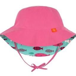 Lassig *Chapeau Réversible avec Attache au Cou de Lässig/Lässig Reversible Hat with Neck Strap