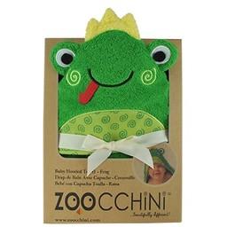 Zoocchini Sortie de Bain pour Bébé de Zoocchini/Zoocchini Baby Towel, Flippy la Grenouille/Flippy the Frog