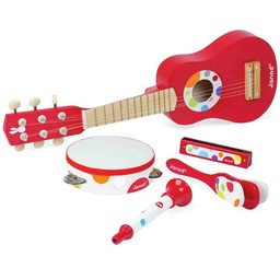 Janod *Ensemble Musical avec Guitare/ Music Set with Guitar