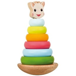 Sophie la Girafe Pyramide Empilable Sophie la Girafe/ Sophie the Giraffe Stacking toy