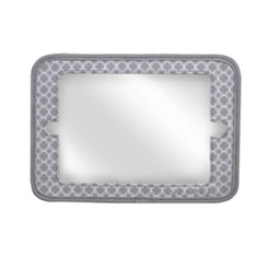 JJ Cole Miroir 2 en 1 JJCole/ JJCole 2 in 1 mirror, Gray Circle