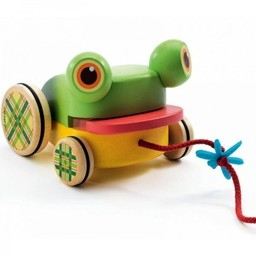 Djeco Jouet à Trainer Croa Froggy de Djeco/Croa Froggy Pull Along by Djeco