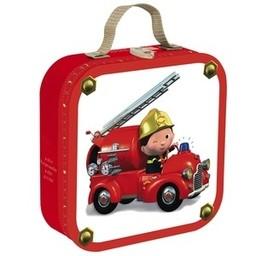 Janod Casse-Tête Camion de Pompier de Janod/Janod Puzzle Leon's Truck-Firetruck