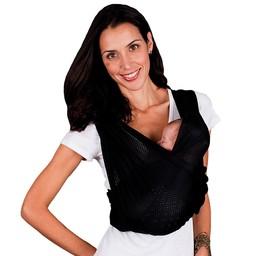 Baby K'Tan *Porte-Bébé Actif de K'Tan/Baby K'Tan's Active Baby Carrier, Noir/Black