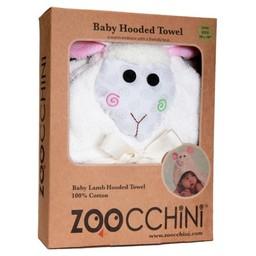 Zoocchini Sortie de Bain pour Bébé de Zoocchini/Zoocchini Baby Towel, Lola l'Agneau/Lola the Lamb