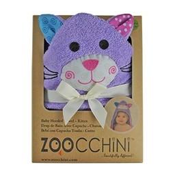 Zoocchini Sortie de Bain pour Bébé de Zoocchini/Zoocchini Baby Towel, Kallie le Chaton/Kallie the Kitten