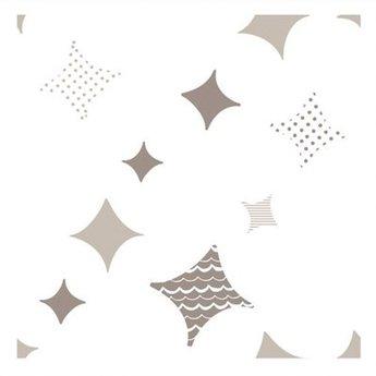 Aden + Anais *Paquet de 4 Couvertures pour Emmailloter/ 4-Pack Swaddling Wraps, Étoile Brillante/Shine On