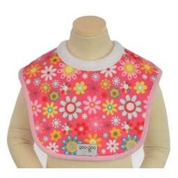 Goo-Goo Baby Bavette Miraculeuse pour l'Allaitement/Miracle Milk Bib, Fleurs Roses/Pink Blossom