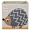 3 sprouts 3 Sprouts - Boîte de Rangement/Storage Box, Hérisson Gris/Grey Hedgehog