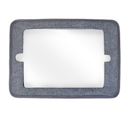 JJ Cole JJ Cole - Miroir 2 en 1/2 in 1 Mirror, Gris/Grey