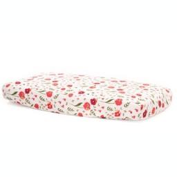 Little Unicorn Little Unicorn - Drap Contour en Mousseline de Coton/Cotton Muslin Fitted Sheet, Summer Poppy