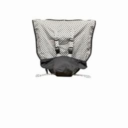 Mint Marshmallow Mint Marshmallow - Chaise de Voyage/Travel Seat, Midnight Black