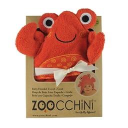 Zoocchini Sortie de Bain pour Bébé de Zoocchini/Zoocchini Baby Towel, Charlie le Crabe/Charlie the Crab