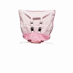 Mint Marshmallow Chaise de Voyage Mint Marshmallow/Mint Marshmallow Travel Seat, Pearl Pink