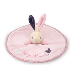 Kaloo Doudou Lapin Rond Je T'aime/Round Doudou Rabbit I Love