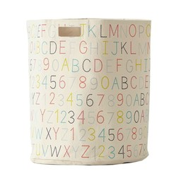 Petit Pehr *Panier à Linge de Petit Pehr/Petit Pehr's Hamper, Multicolor Alphabet/Alphabet Multicolore