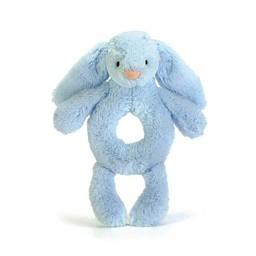 Jellycat Jellycat - Hochet Lapin Bashful/Bashful Bunny Grabber, Bleu/Blue