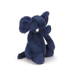 Jellycat Jellycat - Éléphant Bashful/Bashful Elephant, Bleu 12''/Blue 12''