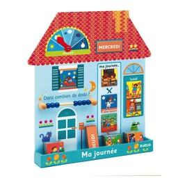 Djeco Djeco - Eduludo Ma Journée-Maison/Eduludo Day Planner-House