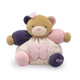 Kaloo *Petit Ourson Papillon Petite Rose/Small Bear Butterfly Petite Rose