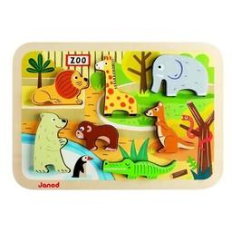 Janod Casse-Tête du Zoo (Version Épaisse) de Janod/Janod Zoo Chunky Puzzle