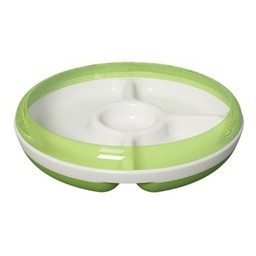 OXO *Assiette à Compartiments OXO Tot /OXO Tot Divided Plate, Vert/Green