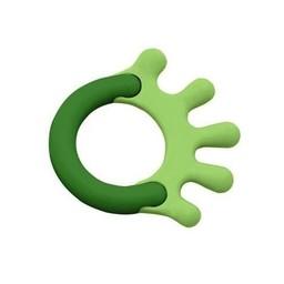 Green Sprouts *Jouet de Dentition en Amidon de Maïs de Green Sprouts/Green Sprouts Cornstarch Hand Teether, Vert/Green