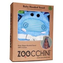 Zoocchini Sortie de Bain pour Bébé de Zoocchini/Zoocchini Baby Towel, Henry l'Hippopotame/Henry the Hippo