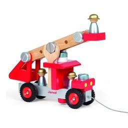 Janod Camion de Pompier de Janod/Janod DIY Firetruck