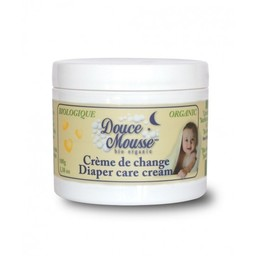 Douce mousse Crème de Change Biologique de Douce Mousse, format 100g/Douce Mousse Diaper Care Cream, 110g