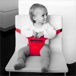 Siège de Voyage Minichair de Minimonkey Rouge/Minimonkey's Minichair Travel Seat Red