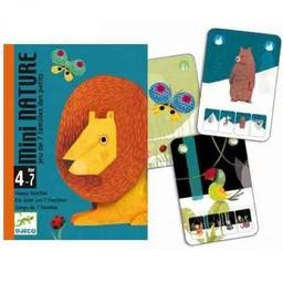 Djeco Jeu des 7 Familles Mini Nature de Djeco/Djeco Mini Nature 7 Families Card Game
