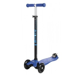 Kickboard Canada Trottinette avec T-Bar Pliable Maxi Micro/Maxi Micro Kickboard with Folding T-Bar, Bleu/Blue