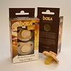 Boka Boka - Suces en Bois et Latex/Wood and Latex Pacifiers, 0-6 mois/months