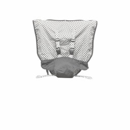 Mint Marshmallow Mint Marshmallow - Chaise de Voyage/Travel Seat, Slate Grey