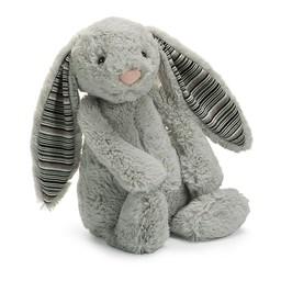 Jellycat Jellycat - Lapin Bashful Blake/Bashful Blake Bunny, Gris Pâle 15''/Light Grey 15''