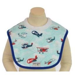 Goo-Goo Baby Bavette Miraculeuse pour l'Allaitement/Miracle Milk Bib, Avions/Planes