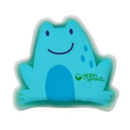 Green Sprouts *Compresse Froide de Green Sprouts/Green Sprouts Cool Calm-Press, Grenouille Bleue/Blue Frog