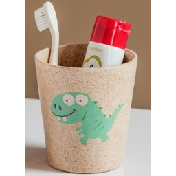 Jack&Jill Verre de Salle de Bain Biodégradable Dinosaure/Biodegradable Rinse Cup Dino