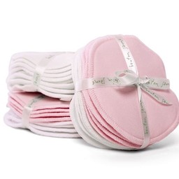 Bouton Jaune Bouton Jaune - Compresses d'Allaitement en Coton Organique/Organic Cotton Nursing Pads, Rose/Pink