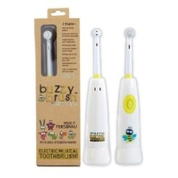 Jack&Jill Brosse à Dents Électrique Musicale de Jack N' Jill/Buzzy Brush Electric Musical Toothbrush by Jack N' Jill