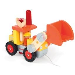 Janod *Bulldozer DIY de Janod/Janod DIY Bulldozer