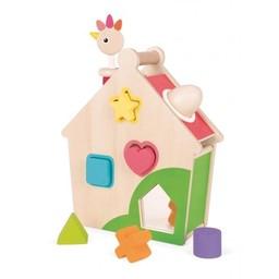 Janod Maison d'Activités Poulette/Chick Activity House