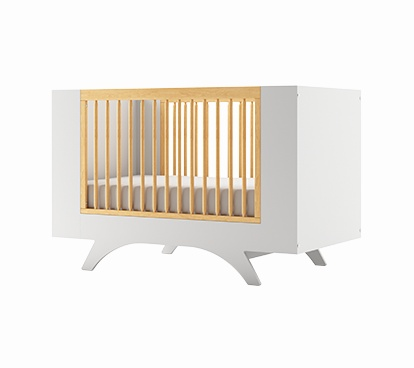 dutailier dutailier melon lit de b b convertible convertible crib charlotte et charlie. Black Bedroom Furniture Sets. Home Design Ideas