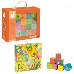 Janod Blocs Kubkid de Janod/Janod Kubkid Blocks, Alphabet
