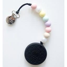 Loulou Lollipop Jouet de Dentition Biscuit de Loulou Lollipop/Loulou Lollipop Cookie Teether, Barbe à Papa/Cotton Candy