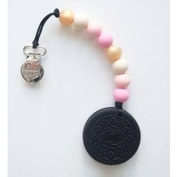 Loulou Lollipop Jouet de Dentition Biscuit de Loulou Lollipop/Loulou Lollipop Cookie Teether, Princesse Rose/Pink Princess