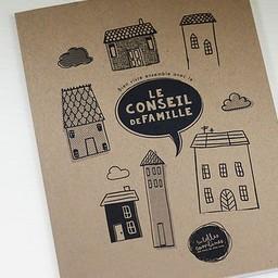 Les Belles Combines Les Belles Combines - Cahier Conseil de Famille/Family Council Notebook